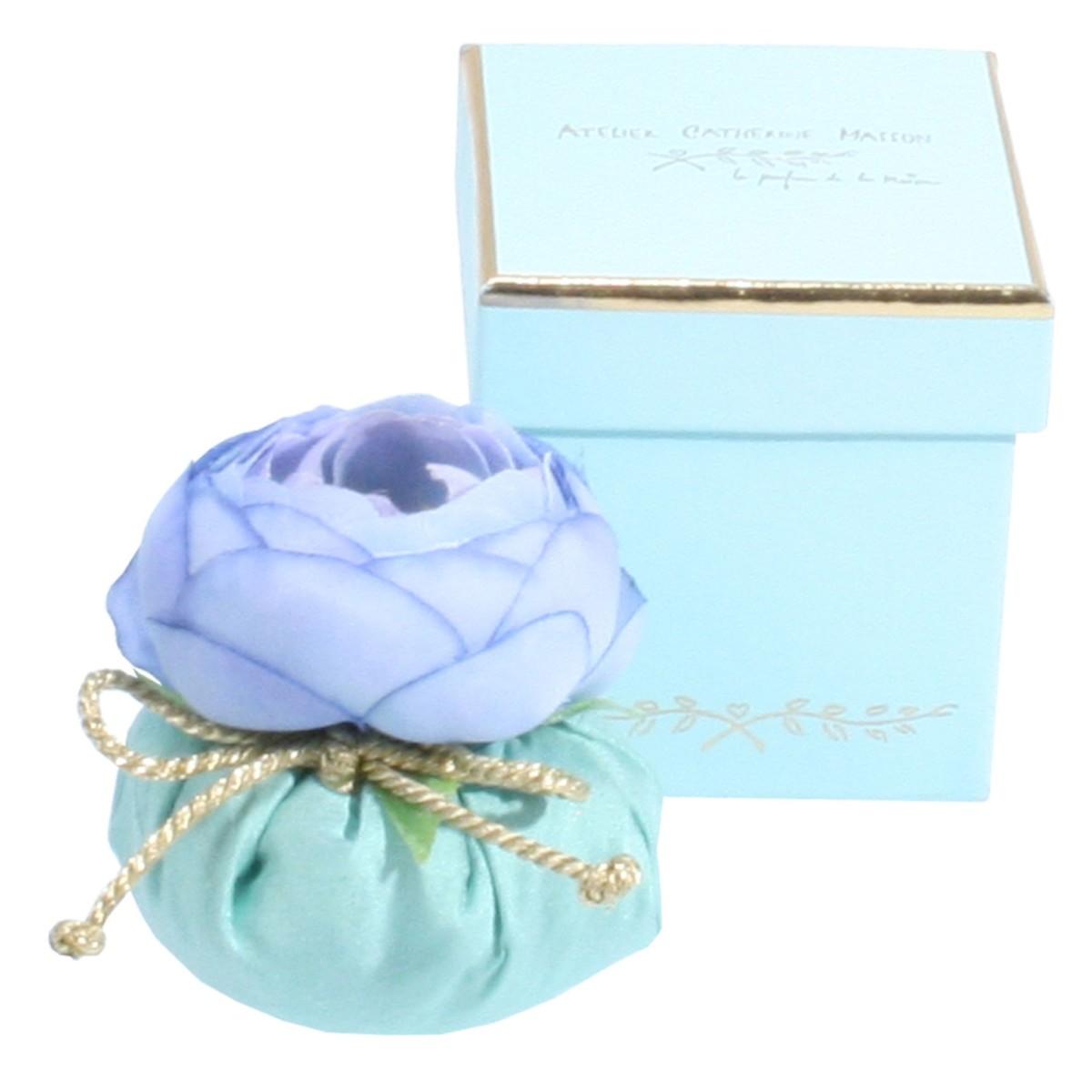 Baby boule parfumée en boite gourmandise turquoise