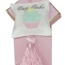 Boite accroche cœur, Cupcake Brodé